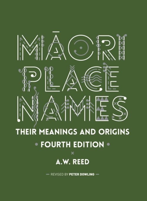Māori Place Names front cover