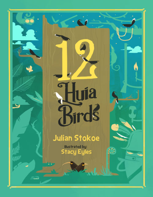 12 Huia Birds front cover